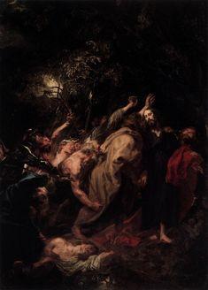 Anthony Van Dyck: Jesus captured