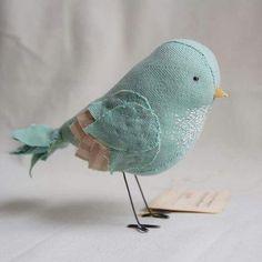 Oiseau tissus