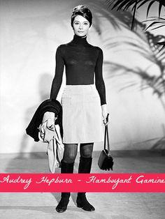 Audrey Hepburn - Flamboyant Gamine. Typ urody Flamboyant Gamine – ekstrawagantka