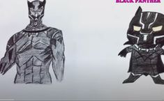 How to Draw Black panther | How to Draw a Black panther for Kids | Draw a Cute Black panther  This video is a part to learn drawing for kids easy step by step. Learn Drawing, Drawing Skills, Drawing For Kids, Learn To Draw, Black Panther, Batman, Superhero, Drawings, Easy