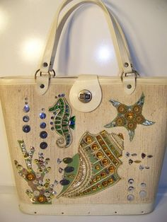 Enid Collins- I use to collect these bags.  I had 27 destroyed in a move. I still have this one.