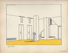 Rob Mallet-Stevens_Hall_2, Intérieurs Francais, Editions Albert Morancé, ©1925