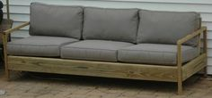 Building plans for sofa- Do It Yourself Home Projects from Ana White