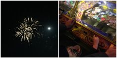 Dorset Adventure, fireworks and first trip for the little lady to the amusement arcades. happylittlefeather.com