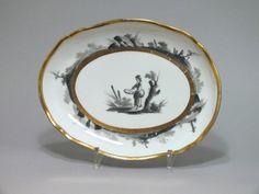 Paris - Manufacture De Locré - Fin Du XVIIIe Siècle, Bils Ceramiques, Proantic