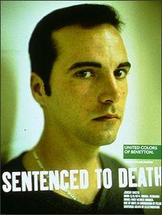 """L''ultima campagna di Oliviero Toscani per Benetton, invece, riguarda lapena di mortee ha avuto un impatto mediatico sensazionale in tutto il mondo. Con """"We On Death Row"""" (Noi nel braccio della morte), Benetton mostra per la prima volta l'aspetto reale di alcuni condannati a morte: il presente di chi non ha futuro."""