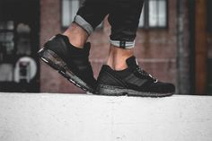 Club 75 x adidas EQT Running Cushion 91 – Black / Black