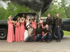 Should be shotgunning those beers.... but I'll just save this idea for the bridal party