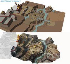 Environment Design using Sketchup by FranklinChan