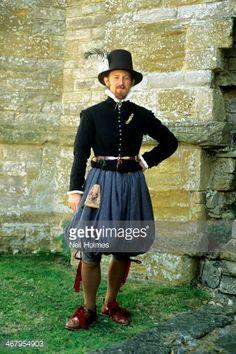 English Tudor Period costume late 16th century historical re...