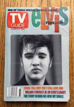 Elvis Presley TV Guide - Special Effects Elvis Covers magazine US Elvis Presley Records, Cover Band, King Of Music, Old Shows, Vintage Tv, Tv Guide, Old Tv, Popular Music, Classic Tv