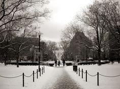 Snowy Dupont Circle