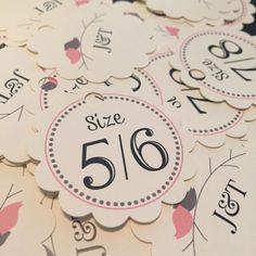 fdae9ccaf Flip Flop Size Tags • Flip Flops for Wedding Guests Sign • Wedding Flip Flop  Basket • Custom Size Tags