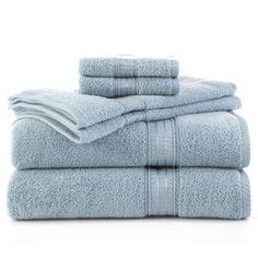 Martex Staybright Solid 6-Piece Towel Set