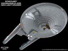 Kearsarge-class : Light-cruiser, TOS-era.