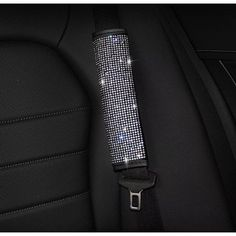 Swarovski Crystal Seatbelt Cover from Love Lemonade - Our fabulous Swarovski Crystal Seatbelt Cover are available at a great price with Free Delivery On Orders Over Buy Now! Bling Car Accessories, Car Interior Accessories, Car Accessories For Girls, Ford Gt, Audi Tt, Volvo, Peugeot, Car Key Holder, Nissan