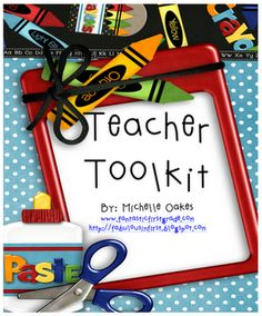 """FREE MISC. LESSON - """"Teacher Toolkit: Calendars, Class Forms, Gift Ideas, and More!"""" - Go to The Best of Teacher Entrepreneurs for this and hundreds of free lessons."""
