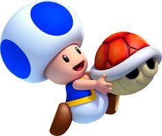 Blue Toad - Fantendo, the Nintendo Fanon Wiki - Nintendo, Nintendo ...