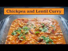 Chickpea and Lentil Curry | Naf's Kitchen Lentil Curry, Ethnic Food, Lentils, Lasagna, Vegetarian, Ethnic Recipes, Kitchen, Cooking, Lenses