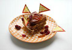 Teatime with Genesis Crafty: Pancake pudding, ginger custard and marmelade glaze
