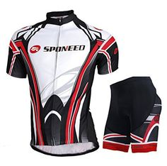 Sponeed Men's Bicycle Jersey Polyester and Lycra Shirt Cyclist Lights Size Asian L/US M Multi - http://www.exercisejoy.com/sponeed-mens-bicycle-jersey-polyester-and-lycra-shirt-cyclist-lights-size-asian-lus-m-multi/cycling/