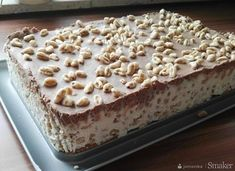 New Easy Cake : Kinder Country, Fall Desserts, Delicious Desserts, Yummy Food, Sweet Recipes, Cake Recipes, Dessert Recipes, Easy Smoothie Recipes, Polish Recipes, Food Cakes
