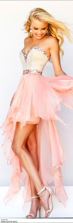 high low prom dress not for prom but wow