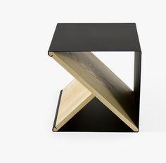 Leibal features minimalist design in regards to architecture, interior design, furniture design, and product design. Design Furniture, Home Furniture, Wooden Furniture, Metal Stool, Modern Bar, Boconcept, Wood And Metal, Minimalist Design, Decoration