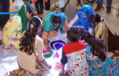 LuLu Mall conducted a colourful rangoli competition on Navaratri and prizes were distributed to the winners. www.lulumall.in