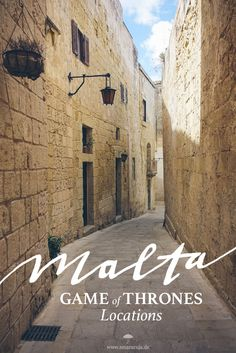 King's Landing, Littlefinger's Brothel and other filming locations of hit series Game of Thrones in Mdina, Malta. - SMARACUJA TRAVEL BLOG