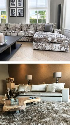 Beach Cottage Style, Dining Table Chairs, Beautiful Space, Sofa Furniture, Luxury Living, Sofas, Couch, Living Room, Interior Design