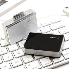 iPhone4-4S USB emergency battery 2200mAH Black - New Arrivals- - TopBuy.com.au