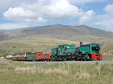 Welsh Highland Railway - Caernarfon