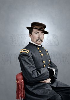 Major General Philip Sheridan; 'Little Phil' - On October 19, 1864, General Phillip Sheridan's journey from Winchester to the Battle of Cedar Creek, Virginia is one of the most famous rides in military history and contributed to the re-election of President Lincoln.