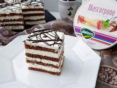 Prajitura cu branza si mascarpone Best Cheese, Vanilla Cake, Tiramisu, Cheesecake, Sweets, Ethnic Recipes, Desserts, Food, Pound Cake