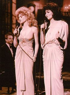 Jan Hooks & Nora Dunn) I think the Sweeney Sisters (Candy & Liz) was one of the best skits on SNL.