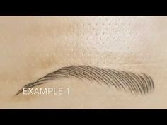 Microblading Eyebrows | Microblading Tutorial on How to Secure Your Template - YouTube