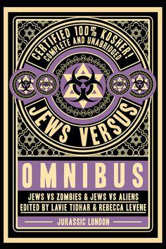 Jews vs Omnibus - cover by Sarah Anne Langton