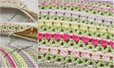 Spring Breeze Tulips in Your Home – Free Pattern + Diagram