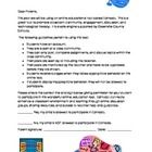 if you love to use edmodo in your classroom this letter is a permission slip
