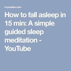 Deep sleep self hypnosis meditation theta wave 45hz brainwave how to fall asleep in 15 min a simple guided sleep meditation youtube malvernweather Gallery