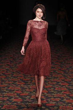 Lena Hoschek Autumn Fashion Collection ©LECCA