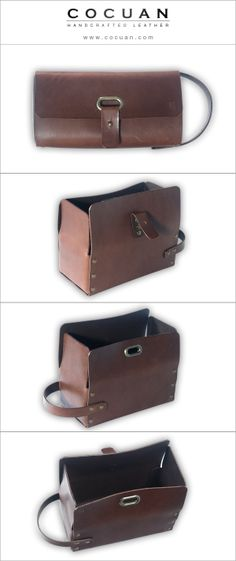 Dopp Kit www. cocuan.com #leather #handmade #handcraftleather #leatherdoppkit…