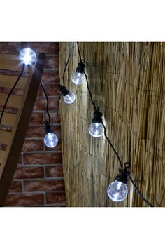 Traditional look White LED indoor & outdoor festoon lights for all occasions. These lights are perfect for brightening up your home/garden or adding some sparkle at a wedding or special celebration.