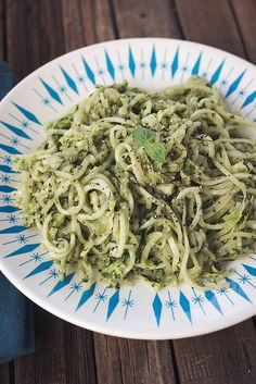 Pesto Turnip Noodles