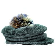 b467204bc73 Amour Bows - Grey Newsboy Hat