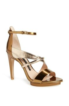 This strappy sandal