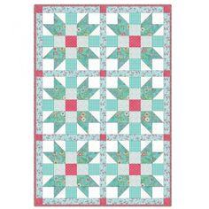 Roam Sweet Home Sisters Choice 6 Block Quilt Kit by Kris Lammers - Maywood Studio