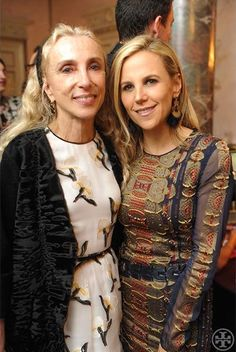 Tory with Vogue Italia Editor-in-Chief Franca Sozzani | Milan Issue: Flagship Party & Vogue Italia Dinner on Tory Daily