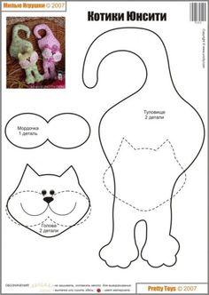ook leuk om een 3d kat van te knutselen met kinderen